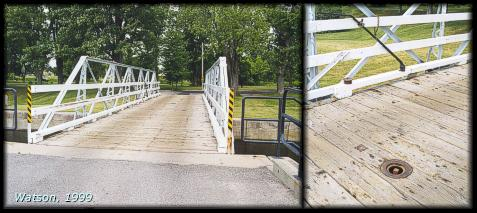 Out the long swinging bridge photos join. And