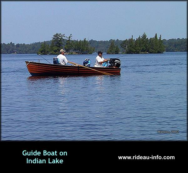 Rideau Canal Waterway Photo A Rideau Guideboat